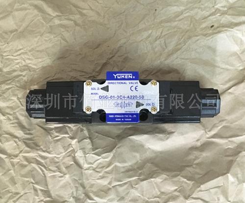 DSG-01-3C4-A220-50-50HZ,油研接线盒式电磁阀