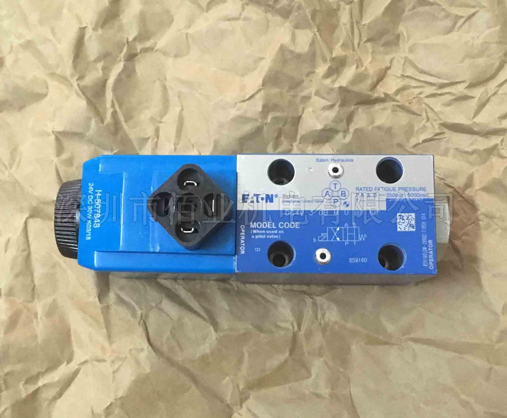 伊顿威格士电磁阀,859160,DG4V-3-0B-M-U-H7-60