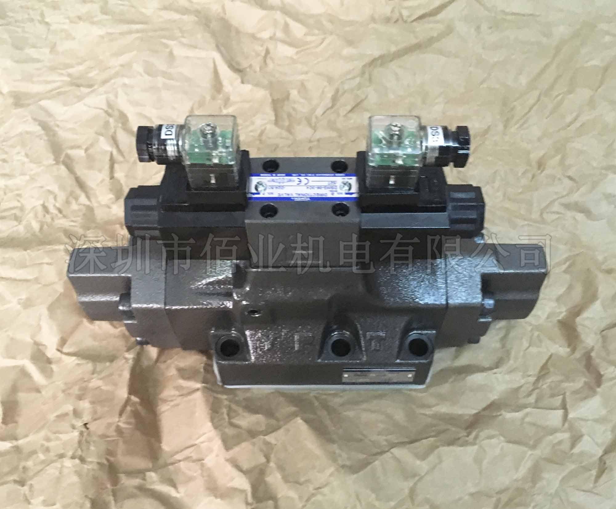 台湾油研电液换向阀,DSHG-06-3C4-R2-D24-N1-52T