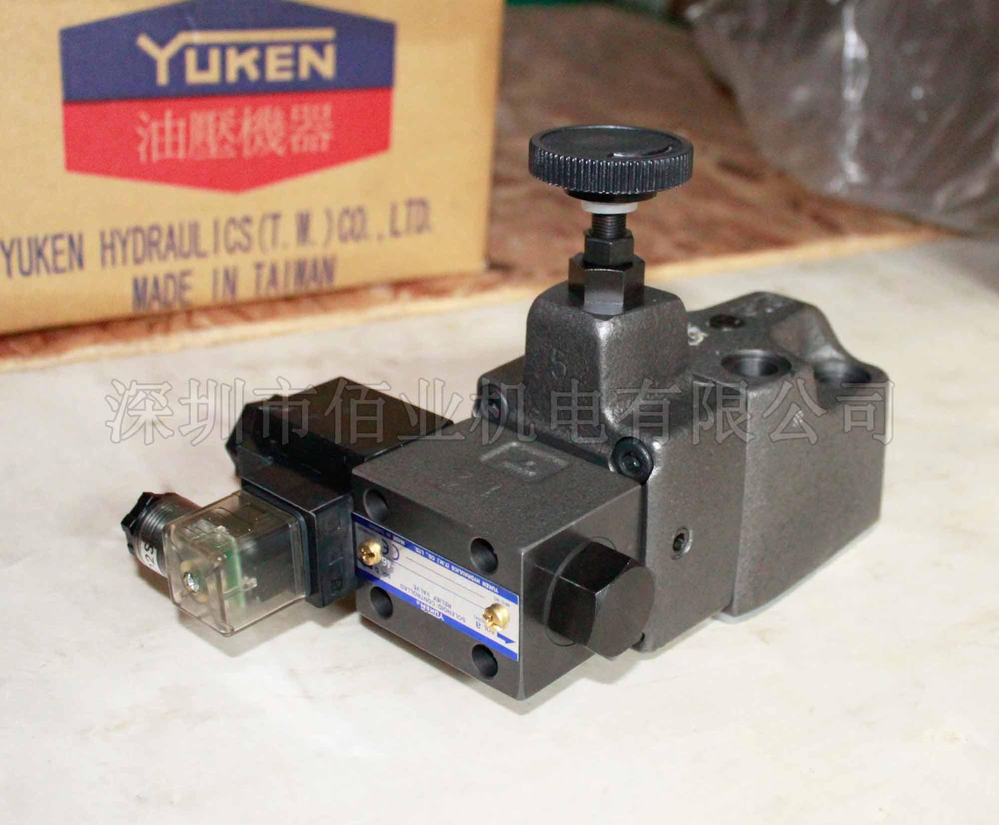 台湾油研电磁溢流阀,BSG-03-2B3B-D24-N1-46