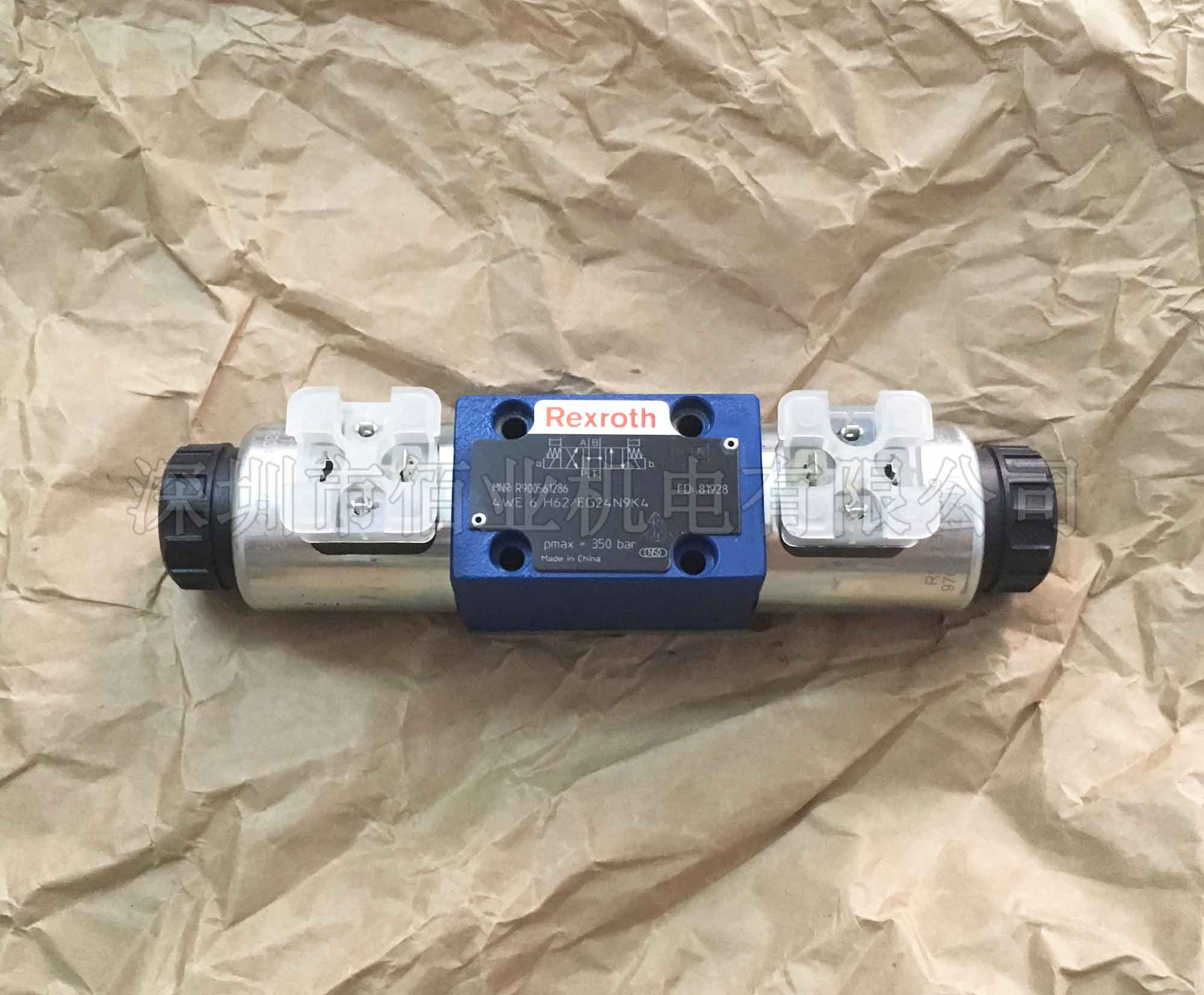 力士乐电磁方向阀R900561286,4WE6H62/EG24N9K4