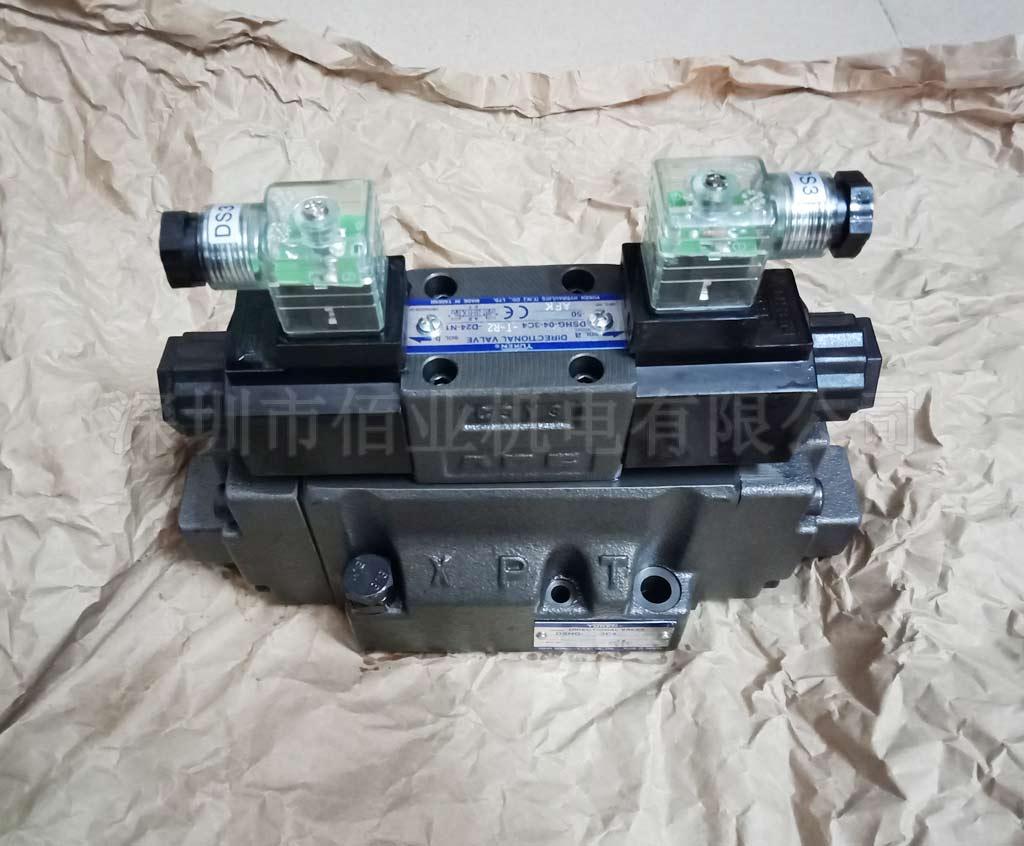 臺灣油研電液換向閥,DSHG-04-3C4-T-R2-D24-N1-50