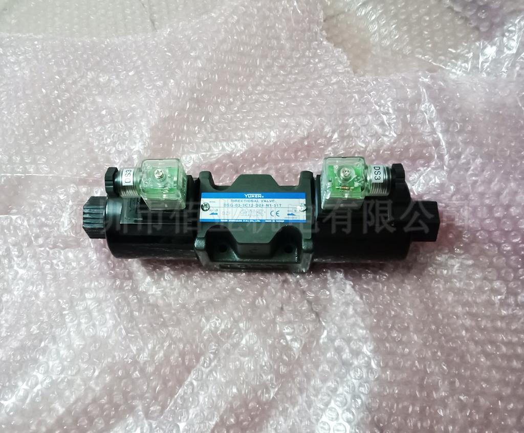 臺灣油研電磁方向閥,DSG-03-3C12-D24-N1-51T