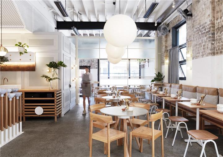 新万博客户端下载咖啡馆,自动调节灯光与区域温度