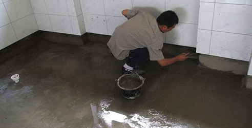 防水涂料施工工艺流程 防水涂料施工特别注意事项