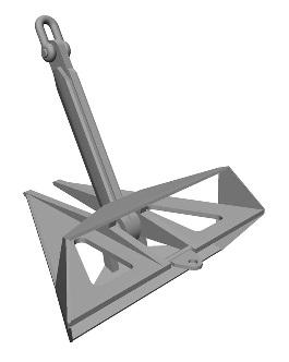 焊接三角锚