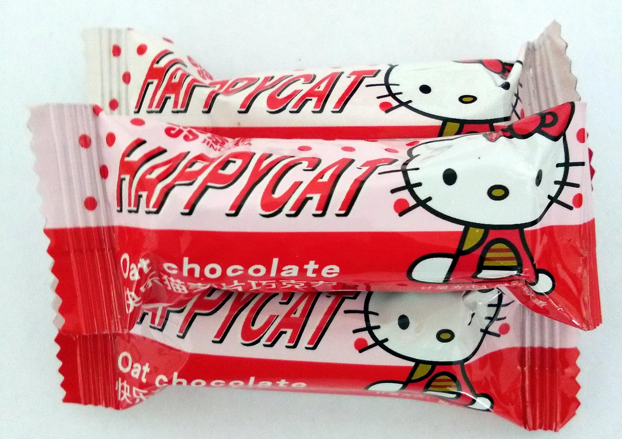 快乐猫燕麦巧克力