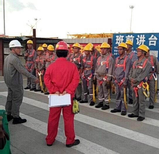 中海福陸重工(珠海)基建腳手架施工項目