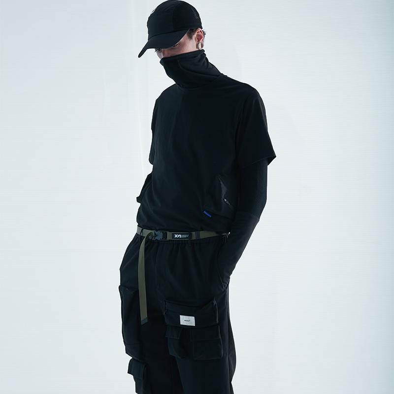 7337# 黑色 軍色 (黑色平紋)腰帶 ¥236