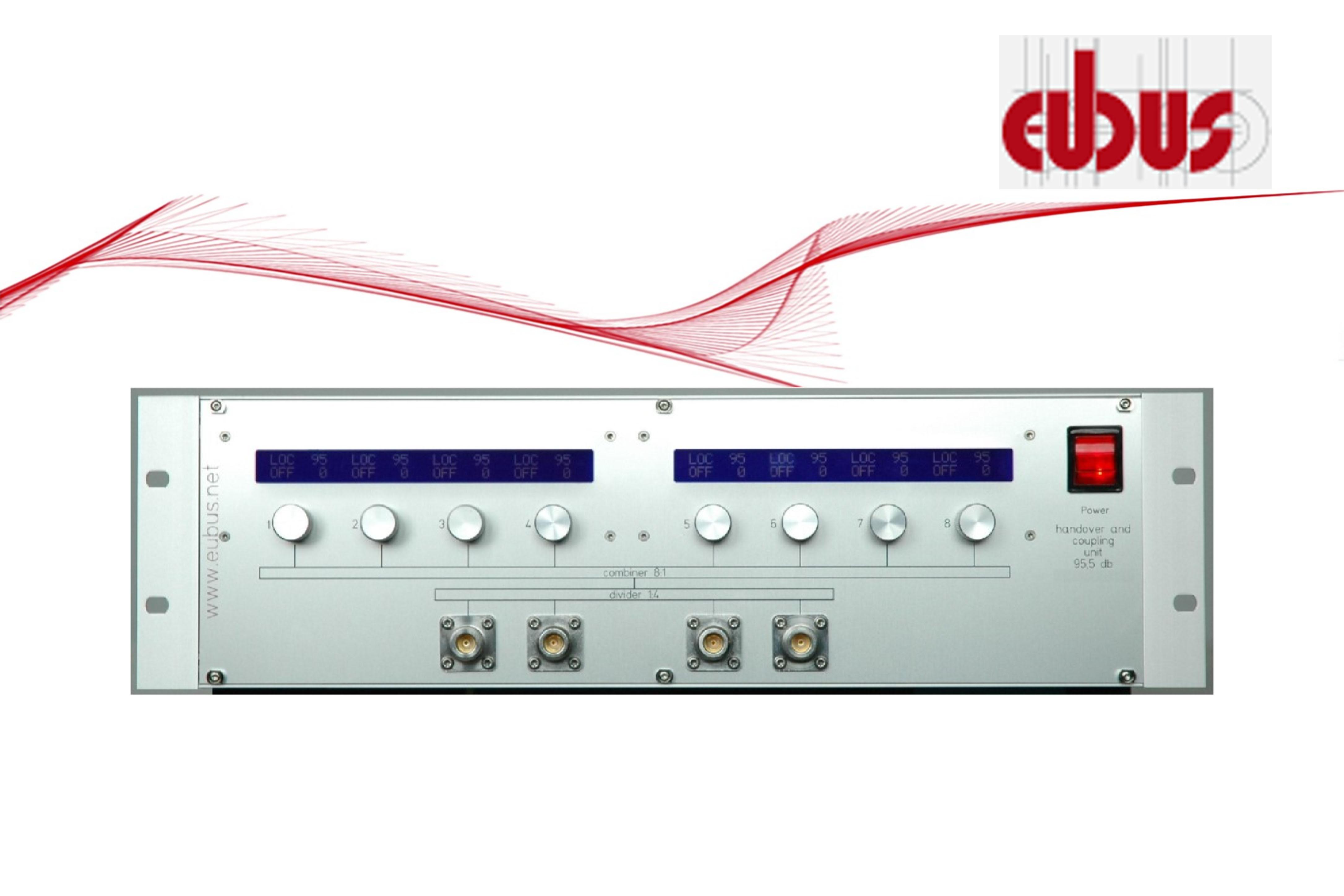 Eubus HCU 4 矩阵型多通路衰减器< 6dB (1GHz), <7.5dB (6GHz)