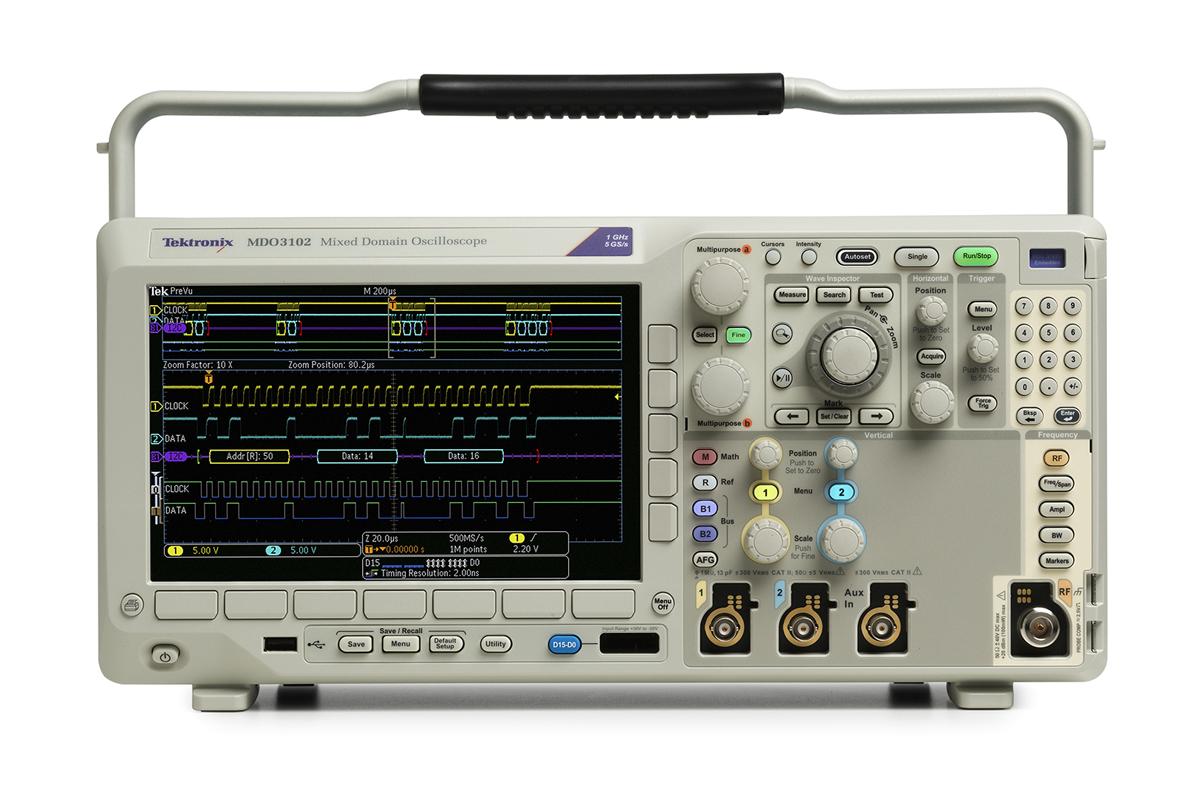 MDO3024混合域示波器