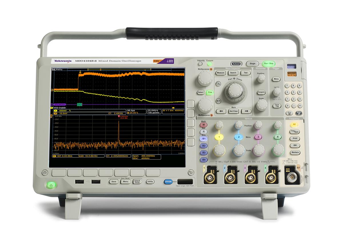 MDO4104C混合域示波器