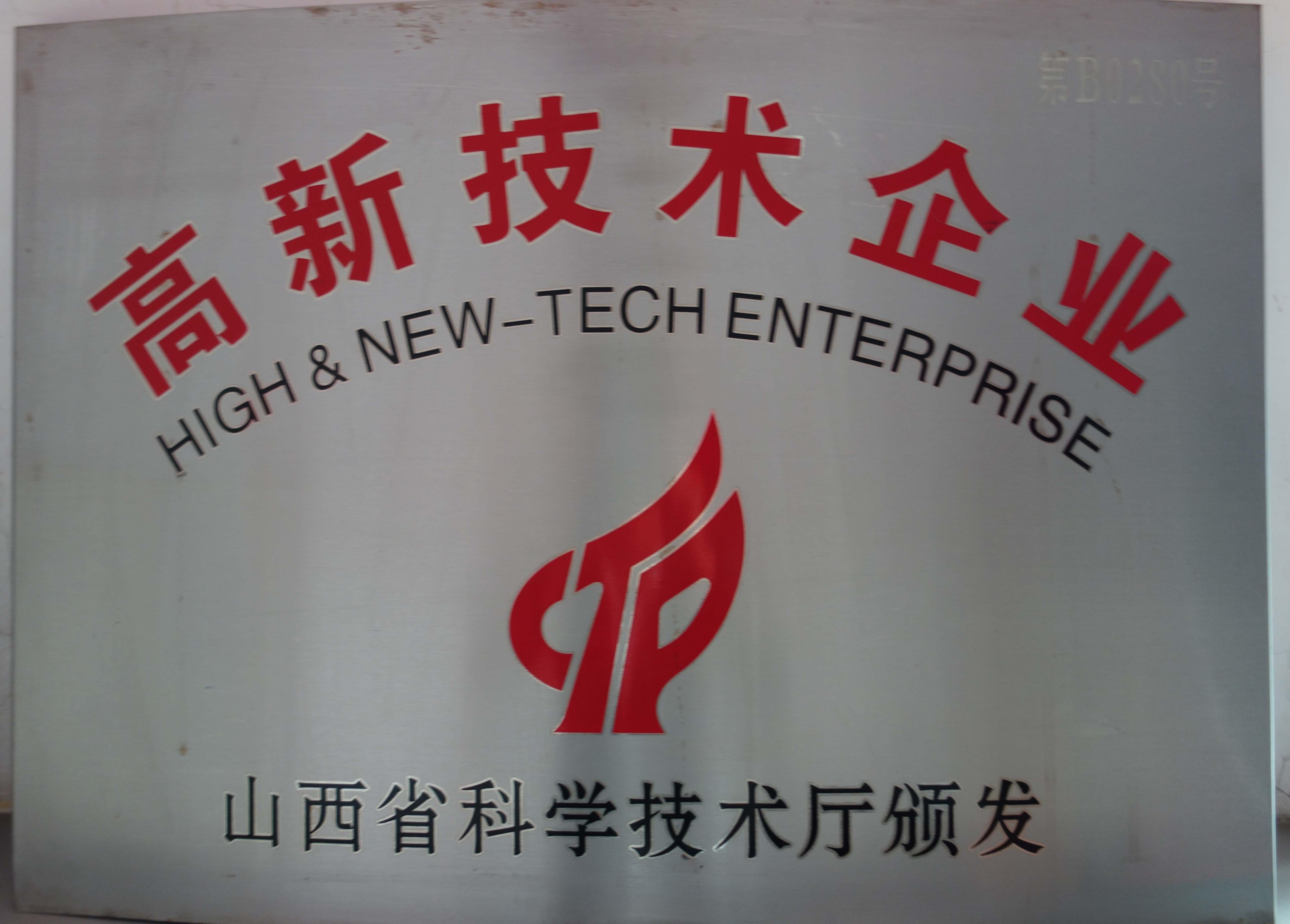 高新技术企业