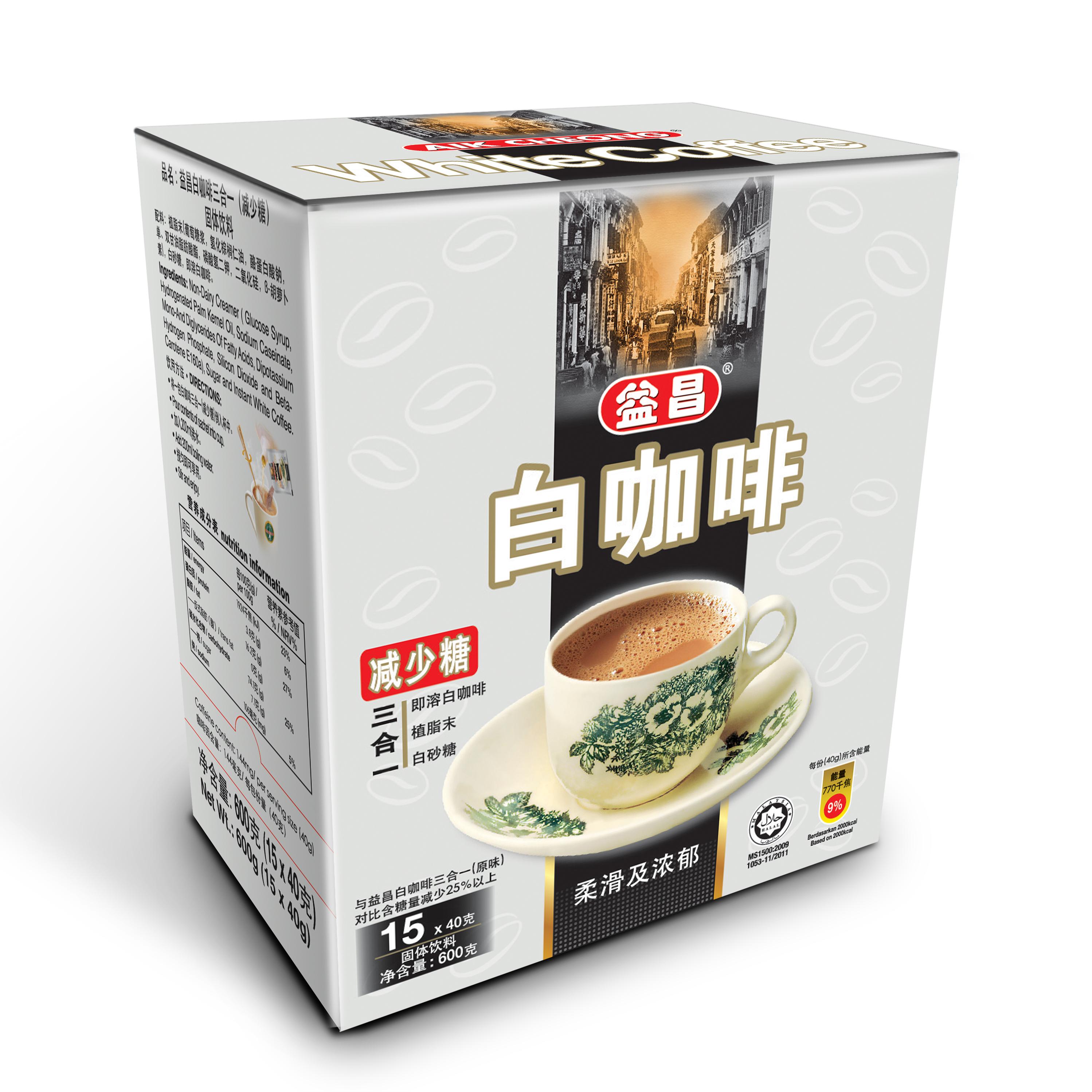 益昌三合一白咖啡(减少糖)
