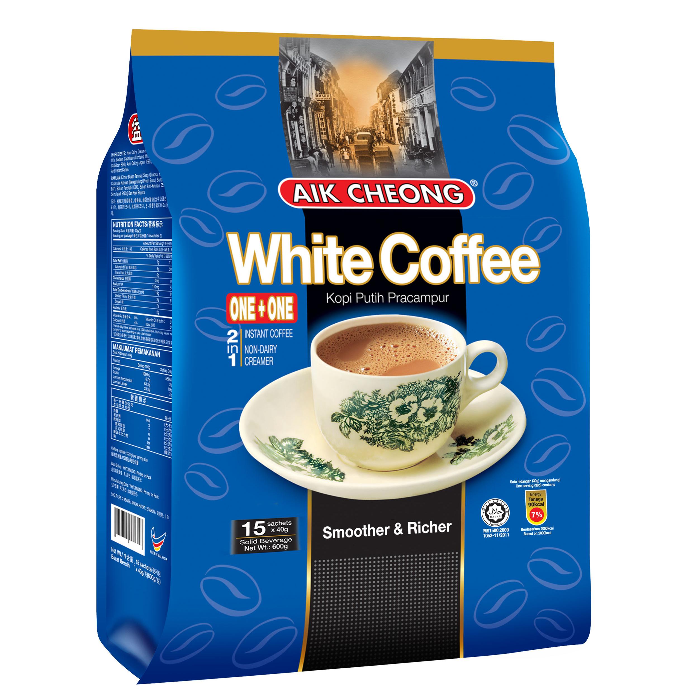 益昌二合一白咖啡