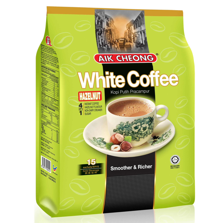 益昌三合一白咖啡榛果味(减少糖)
