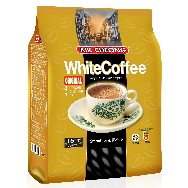 益昌三合一白咖啡