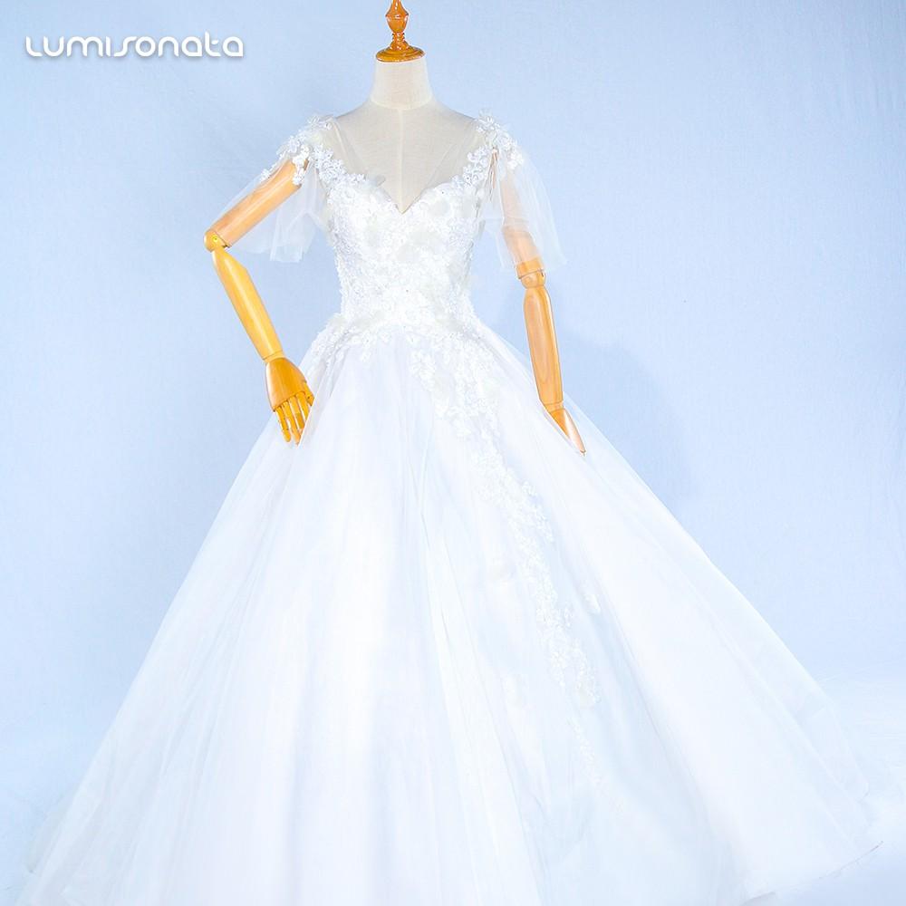 光纤发光婚纱