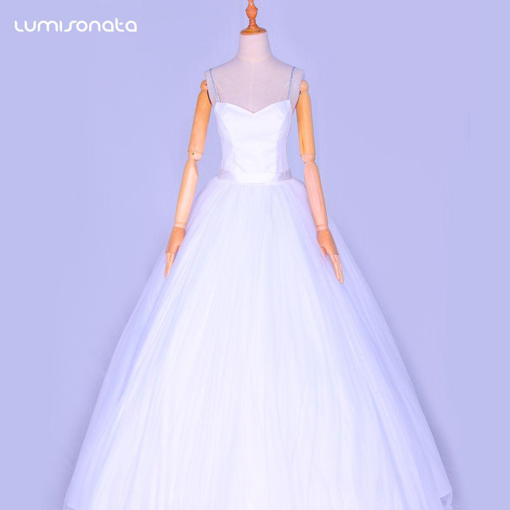 七彩发光婚纱