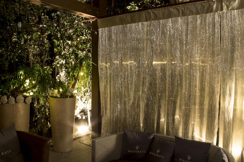 发光光纤面料装饰窗帘