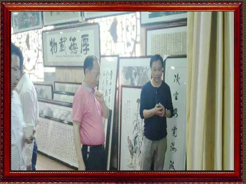 湖南省委宣传部副部长杨金鸢一行;经典案例;仿古牌匾;古朴典雅大气