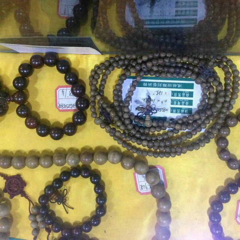 新品上市:红豆杉手串佛珠