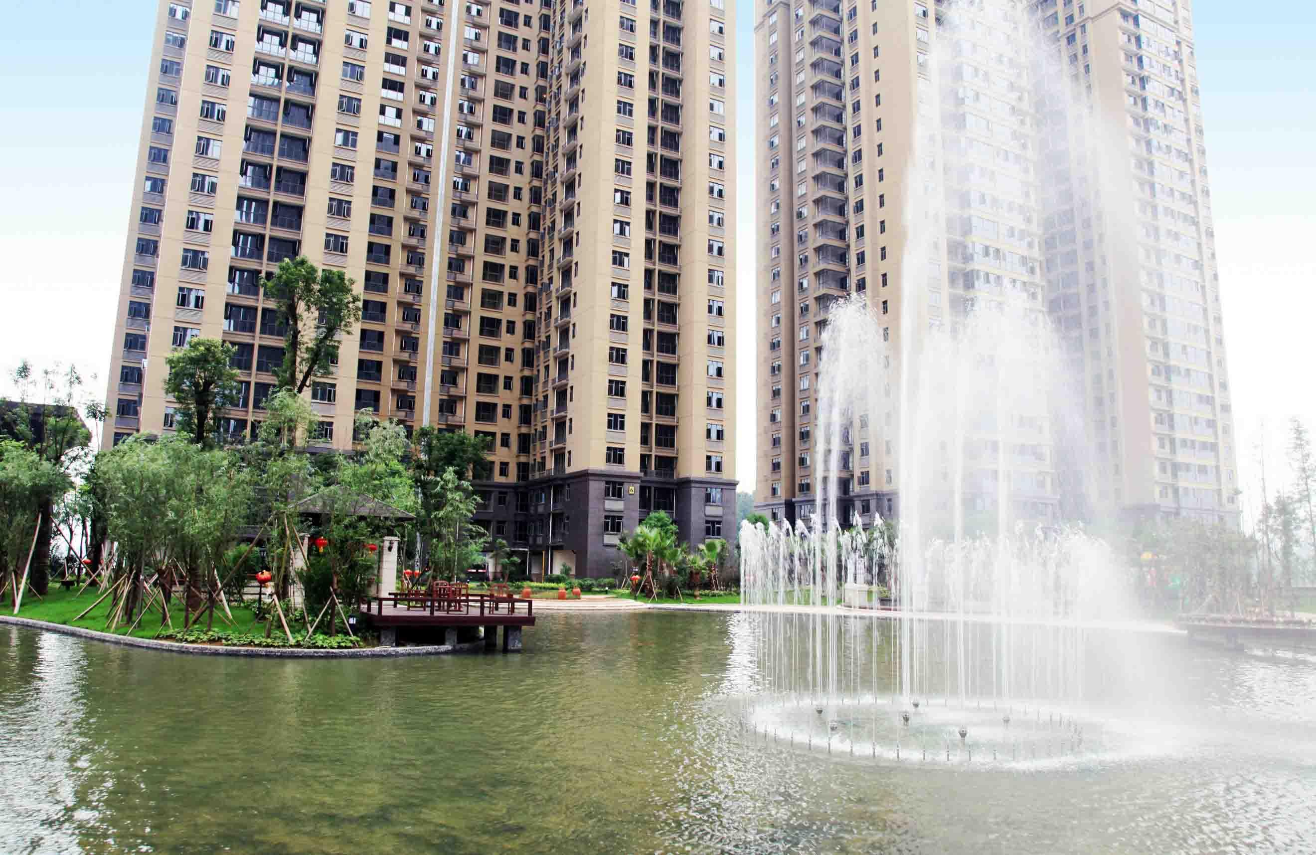 长沙悦湖山居住区园林景观设计