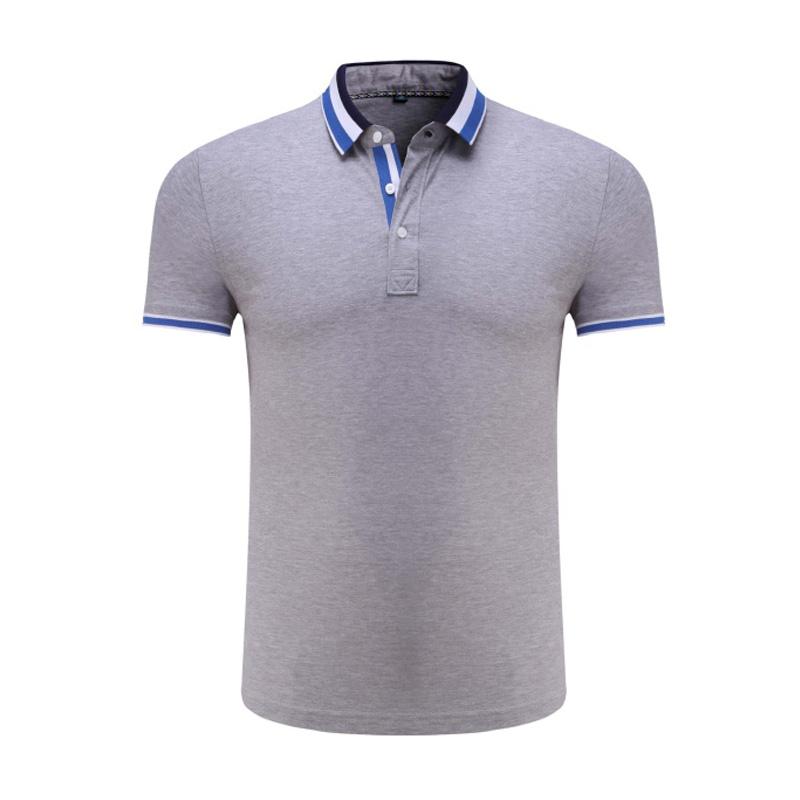 8017#丝光新兰棉短袖T恤定制