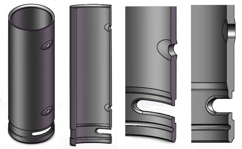 管材内冲孔造型机