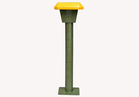 小区智能充电站—户外机插座柱子