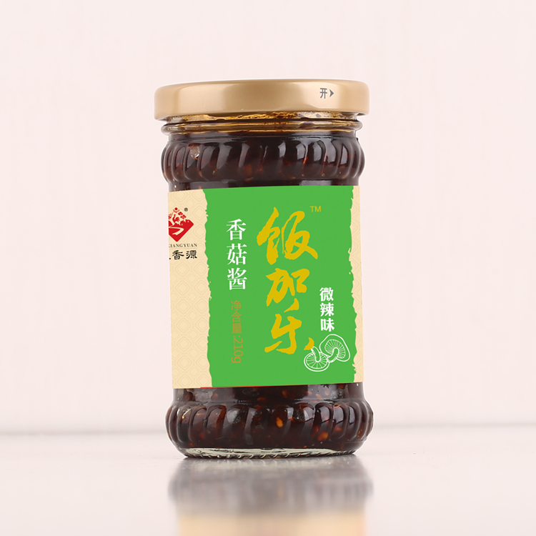香菇烧鸡酱210g