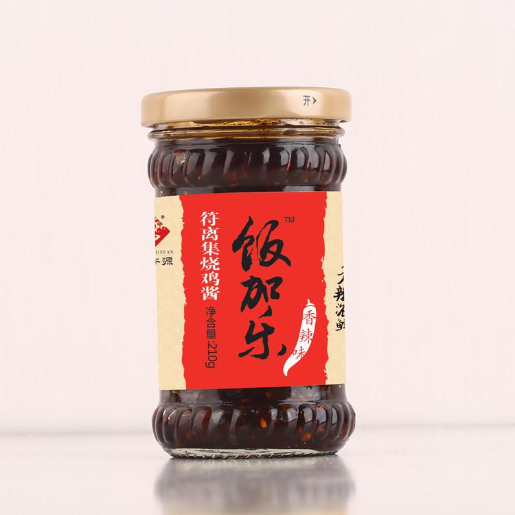 饭加乐香辣烧鸡酱210g