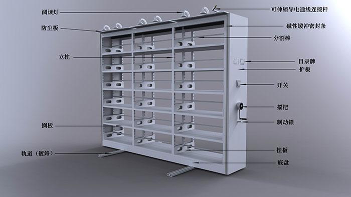 档案密集柜