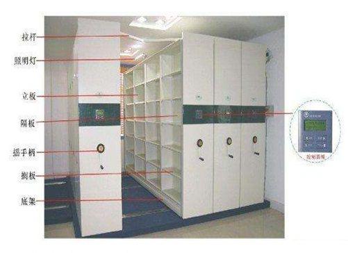 智能档案密集柜图片