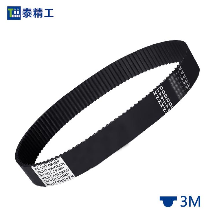 HTD-3M同步带 橡胶同步传动带 工业皮带 齿形皮带工厂 平方价格