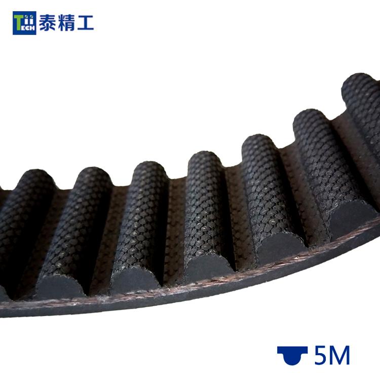 HTD-5M同步带 橡胶同步传动带 工业皮带 齿形皮带工厂 平方价格