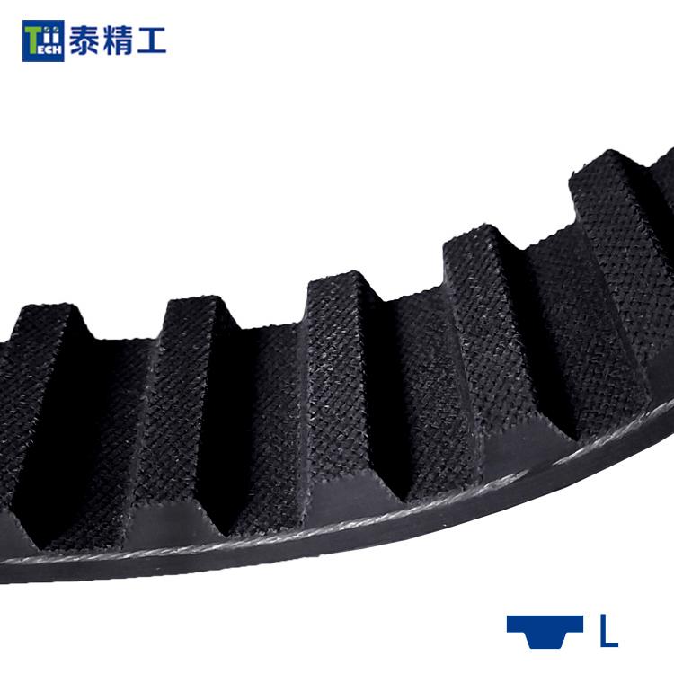 L齿形同步带 橡胶同步传动带 高强度工业皮带 齿形皮带工厂