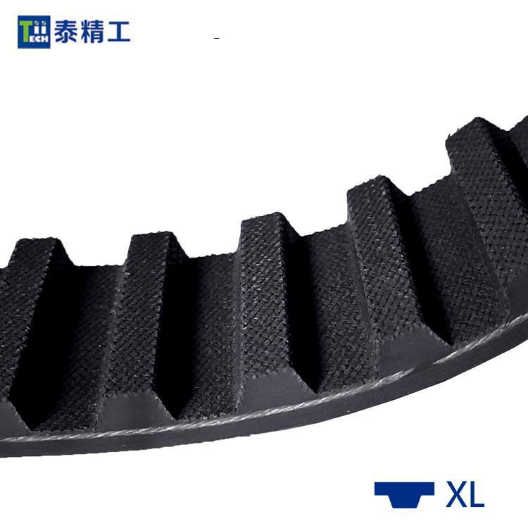 XL齿形同步带 橡胶同步传动带 高强度工业皮带 齿形皮带工厂