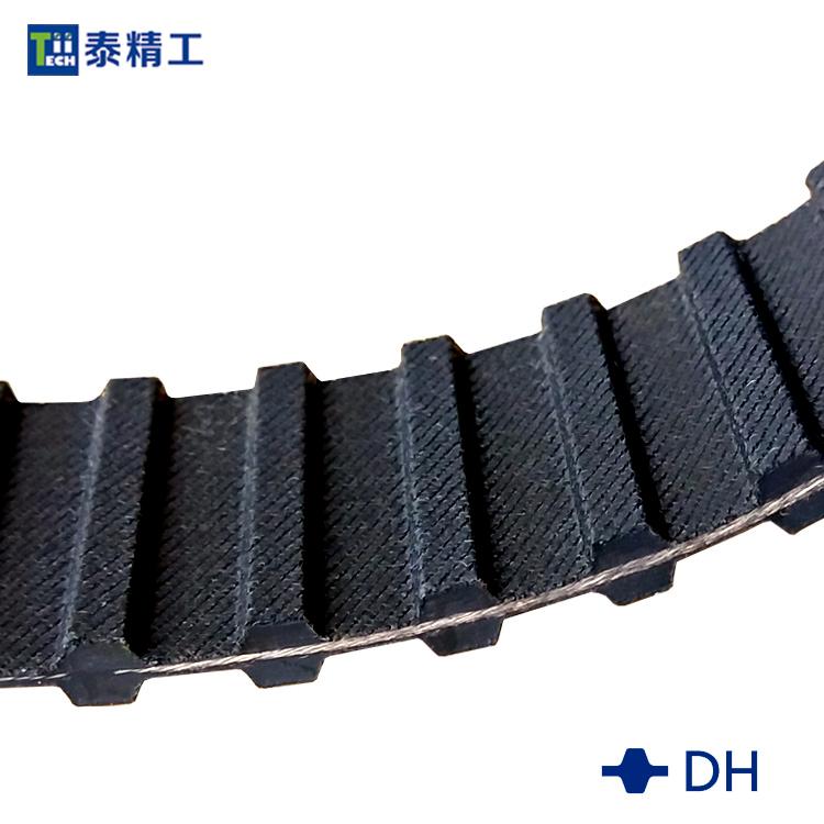 DH齿形同步带 橡胶同步传动带 高强度工业皮带 齿形皮带工厂