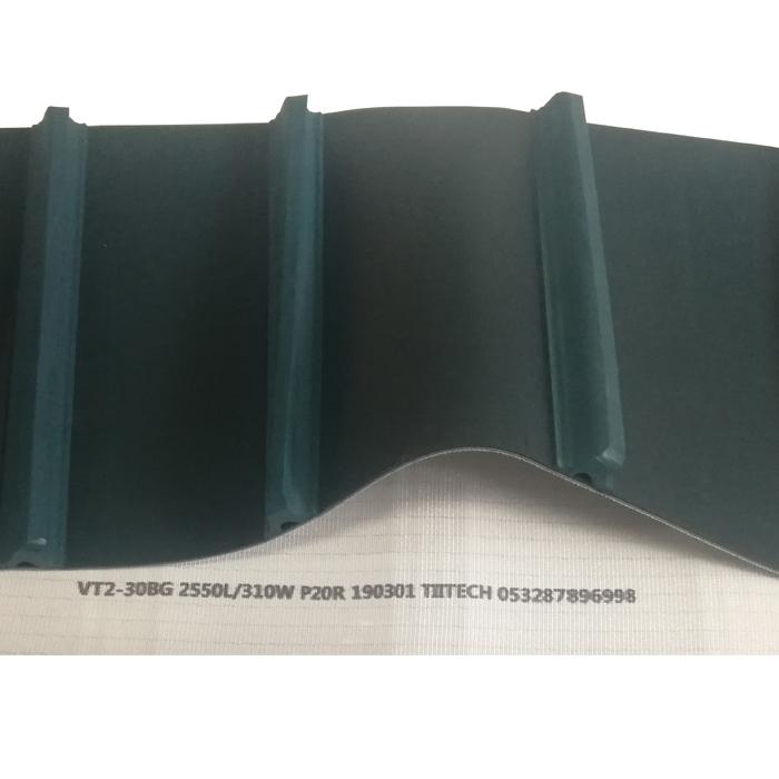 PVC特殊加工提升输送带 纺织自动理管机皮带 挡板带
