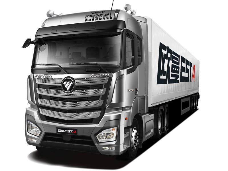 EST-A超级卡车高顶高地板 可改装冷藏车