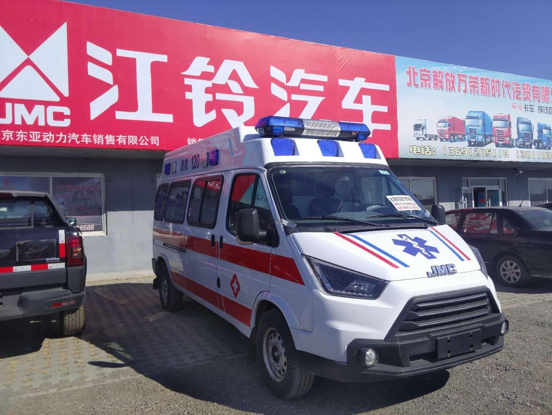 福特全顺救护车 新全顺中轴中顶负压监护型救护车