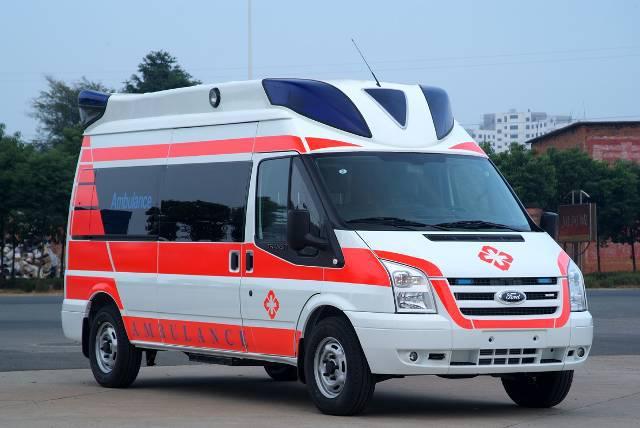 江铃福特新全顺监护型救护车 抢救型救护车 转运型救护车,多种救护车厂家直销