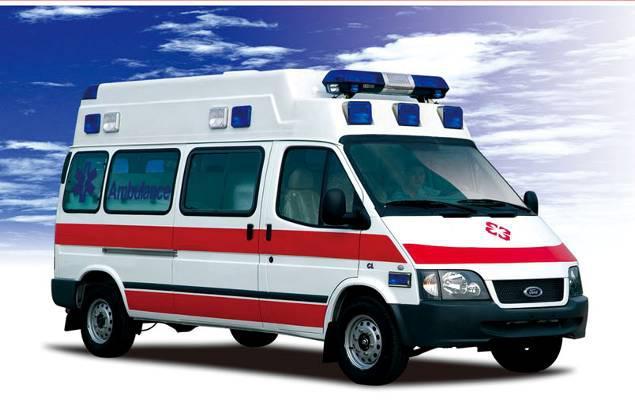 福特全顺监护型救护车