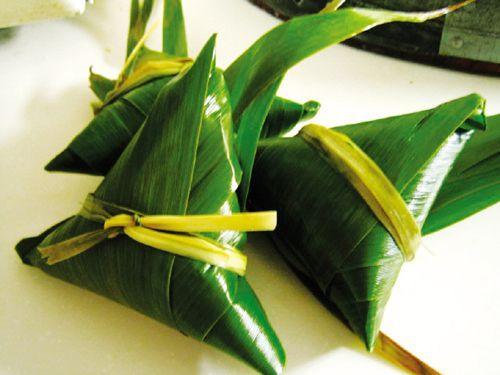 苇叶蜜枣粽