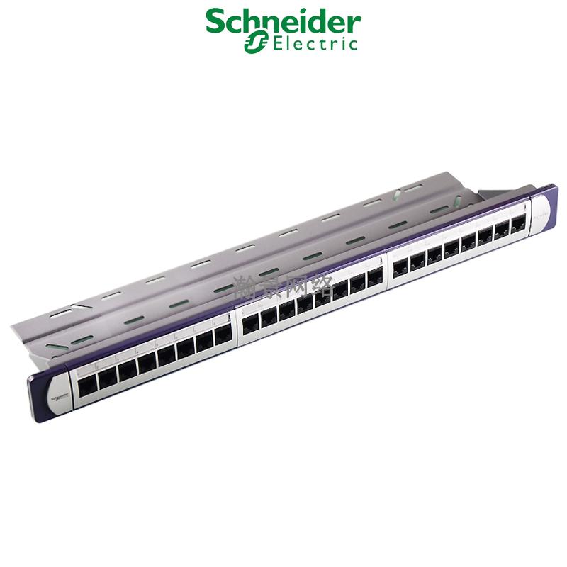 施耐德六类非屏蔽配线架