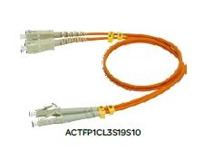 施耐德SC-LC单多模光纤跳线