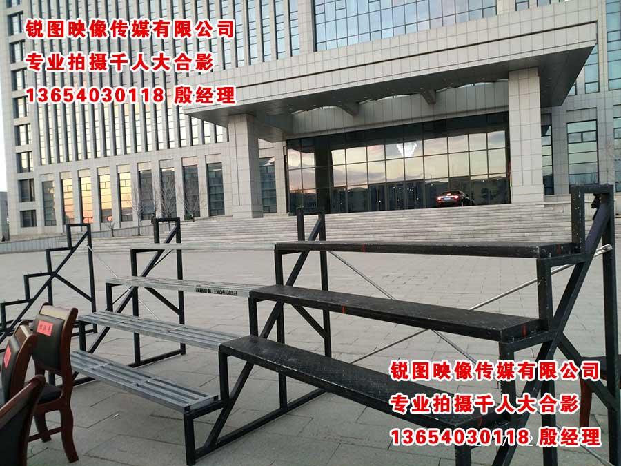 沈阳合影架子台阶 合唱站架台阶租赁 架子台上门安装