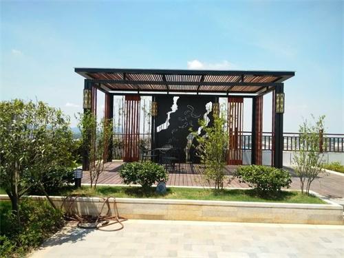 南昌昌北屋顶绿化 - 空中花园
