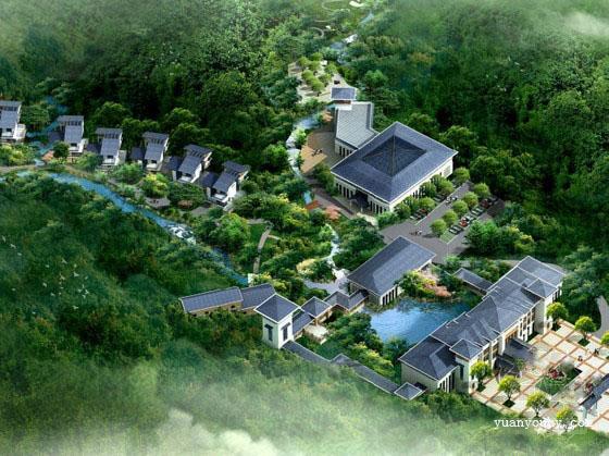 江西休闲度假村设计规划